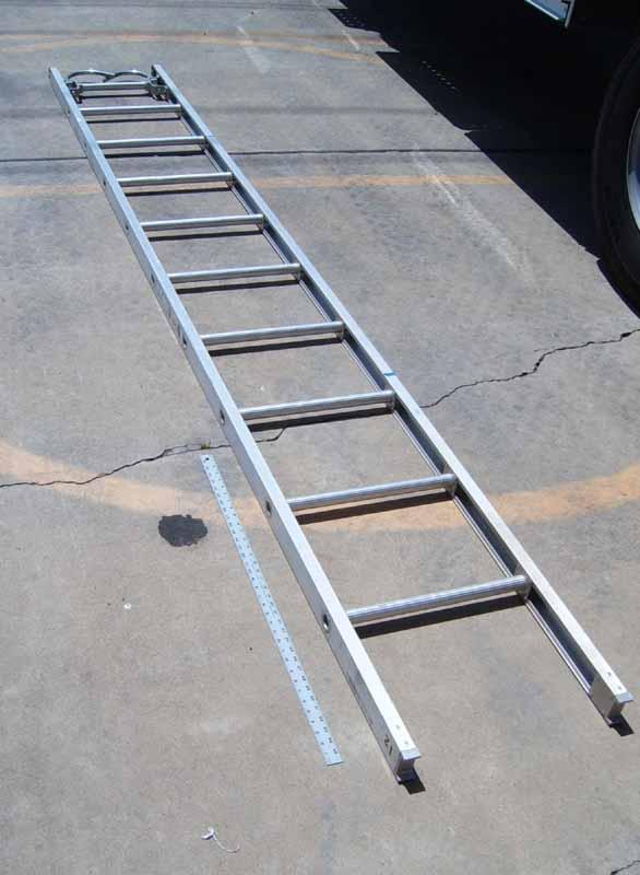 14 Ft Aluminum Ladders : Roof ladder firefighting little giant iaa for